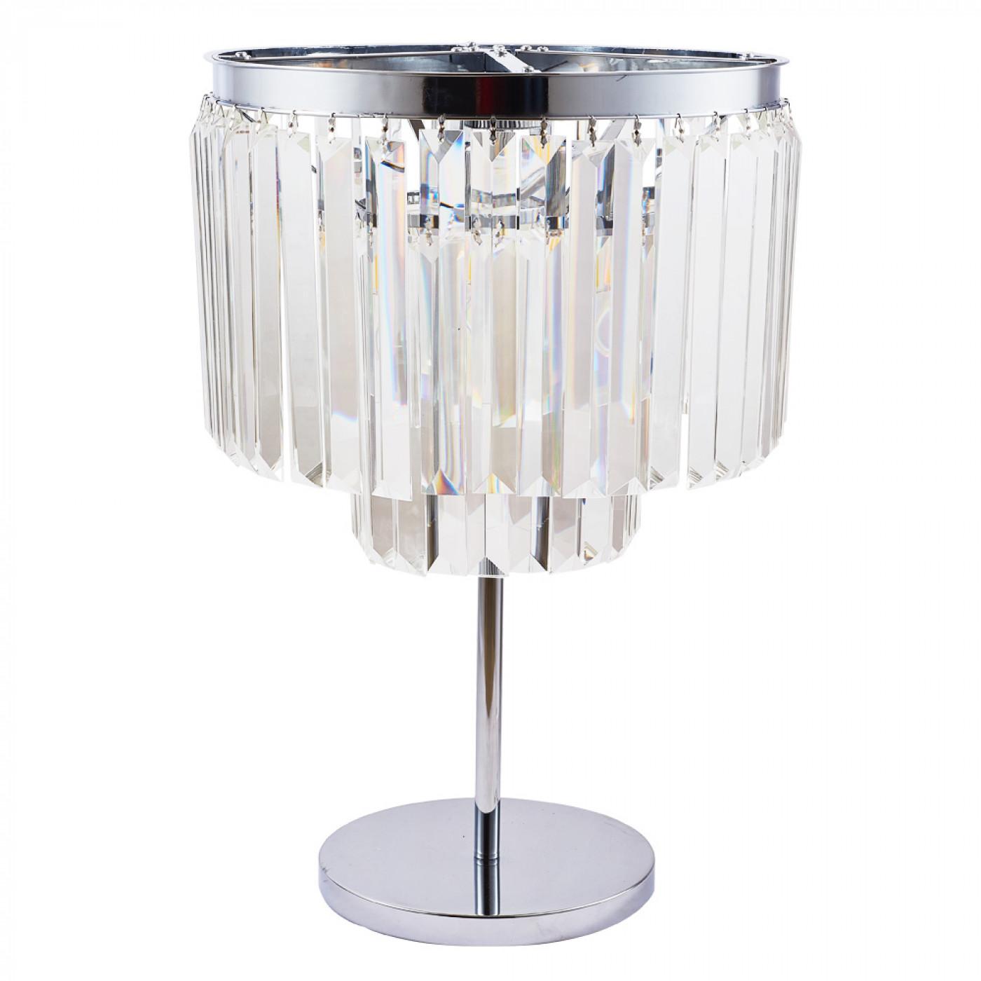 Настольная лампа Divinare Nova Chrome 3001/02 TL-4